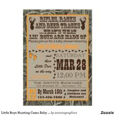 baby shower camo little boys hunting camo baby shower invitations boys hunting