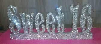 sweet 16 centerpieces graduation styrofoam letters styrofoam names styrofoam