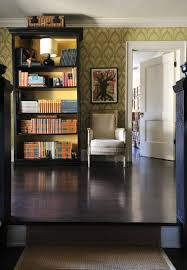 point counterpoint color coded bookshelves decorating lonny