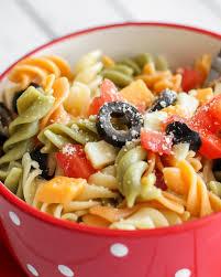 recipes for pasta salad easy pasta salad recipe with italian dressing lil luna