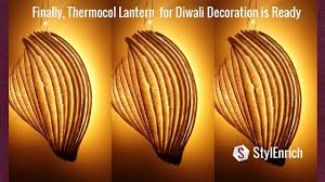 diy diwali u0026 christmas lamp how to make a easy lantern for