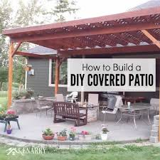 Detached Covered Patio How To Build A Covered Patio Crafts Home