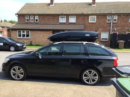 Car Roof Box Ebay by Roof Box Recommendations For Mk Ii Fl Estate Vrs Skoda Octavia