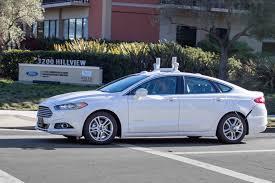 voiture ford voiture autonome une ford mondeo testée en californie