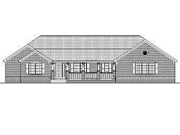 home architect design low cost single story 4 bedroom house floor plans country farm 2200 sf