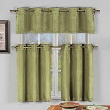 Green Kitchen Curtains Green Kitchen Curtains For Window Jcpenney