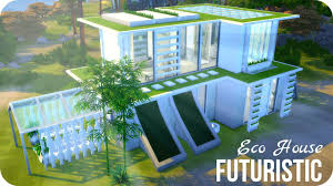 eco house sims 4 house building futuristic eco house youtube