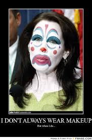 Scary Clown Meme - girl makeup clown meme vizitmir com