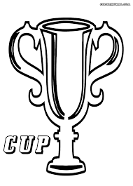 Winner Cup Coloring Pages Coloring Pages To Download And Print Cup Coloring Page