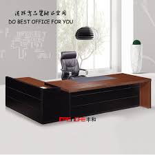 Best Office Table Design Latest Wood Furniture Luxury Boss Manager Table Office Desk Design