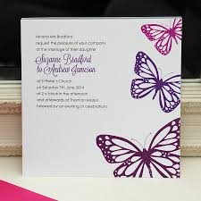 butterfly invitations wedding invitations butterfly themed wedding invitations chic
