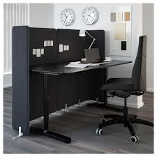 Ikea Office Bekant Screen For Desk 47 1 4
