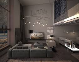sleek living room concept that demonstrate warm and stylish