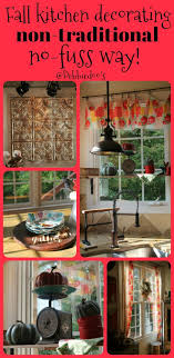 fall kitchen decorating ideas transitioning summer decor to fall decorating without the fuss