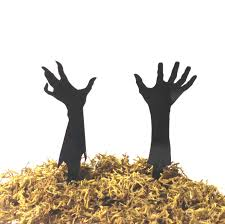 Halloween Monster Hands Made In Usa Zombie Wedding Cake Topper Zombie Apocalypse Cake