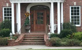 Front Door Colors For Brick House by Articles With Green Front Door Red Brick House Tag Ergonomic