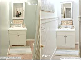 Bathroom Makeover Pictures Before And After - hallway bathroom makeover reveal love of family u0026 home
