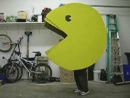 Pacman Halloween Costume Pacman Costume Completed Working Mouth