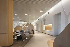 Waiting Area Interior Design 10 Spectacular Airport Lounges Around The Globe Impress With Their