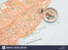 Map With Compass Ontario Map Stock Photos U0026 Ontario Map Stock Images Alamy