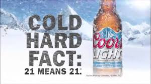 coors light cold hard facts coors light cold hard fact youtube