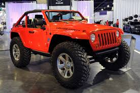 custom lifted jeep wranglers in sema 2009 jeep lower forty a favorite in the mopar display