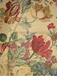 Shabby Chic Upholstery Fabric by Mill Creek Drapery Upholstery Fabric Floral Screen Print Mint