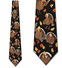 thanksgiving ties turkeys neckties clothing