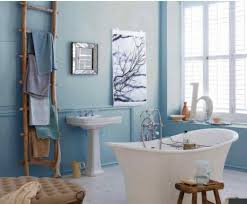 small blue bathroom decorating ideas light royal accessories wall