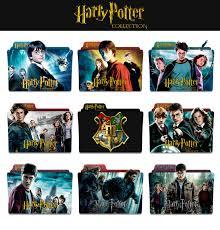 harry potter et la chambre des secrets complet vf harry potter complete collection folder icons by jesusofsuburbiatr