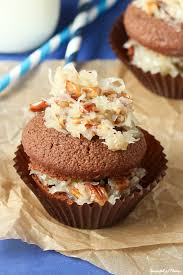 german chocolate cupcakes spoonful of flavor