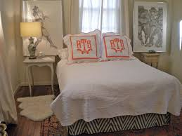 Monogrammed Coverlet House Tour Amanda Stone Talley U0027s New Orleans Carriage House