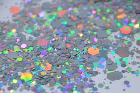 holographic glitter space cowboy silver holographic chunky festival glitter