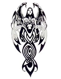 octopus demon tribal tattoo designs demon tattoo design images free