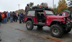 jeep jamboree logo jeep parade thrills tourists in bethel lewiston sun journal