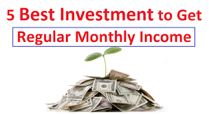 5 best investment ideas to get regular monthly income youtube