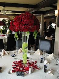 red christmas centerpieces images christmas centerpiece red and