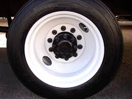 Vintage Ford Truck Steel Wheels - painting truck bus u0026 trailer wheels with tire mask youtube