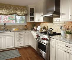 Traditional Kitchen - ivory cabinets in traditional kitchen aristokraft