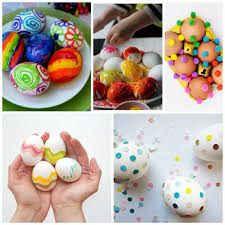 decorative easter eggs 25 ways for kids to decorate easter eggs non gifts