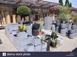 plant pots sale garden centre stock photos u0026 plant pots sale