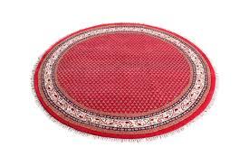 teppich rund rosa