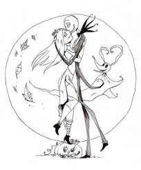 jack and sally coloring pages quotes for all nmbc coloring