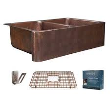 Copper Kitchen Sink by Kitchen Sinks Fireclay And Copper Kitchen Available In Single To