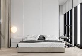 Low Lying Bed Frames Bedroom Atmosphere With Low Pad Bed Furniture