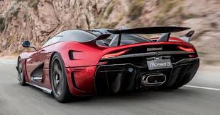 koenigsegg red koenigsegg regera aero package 385 kg downforce