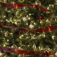 tree garlands happy holidays