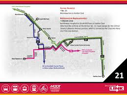 Map Route by Route 21 Mta Baltimorelink