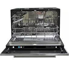 contoure rv d2250b portable countertop dishwasher