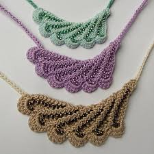 necklace pattern images Ravelry beaded wave necklace pattern by beth herman jpg